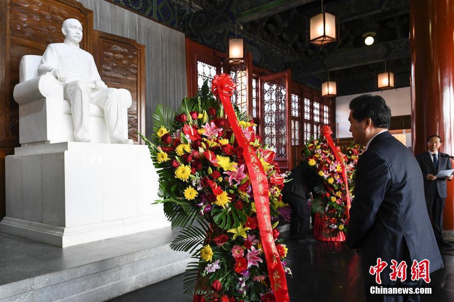 全国政协举行仪式纪念