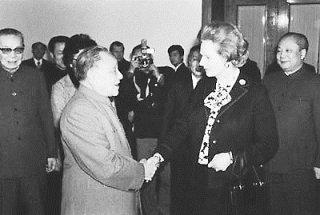 中英香港问题谈判的日日