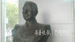 济南中山公园孙中山铜