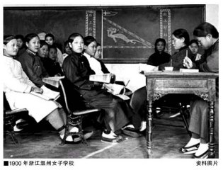 清末民初女子社团的兴起