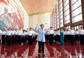 新党员代表入党宣誓活