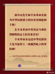 习近平在纪念辛亥革命