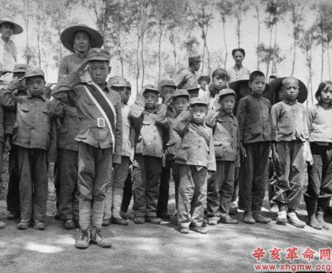 消失了的中国童子军旧照 - 牧笛 - ☆【牧笛】世界顶级艺术图典 ☆