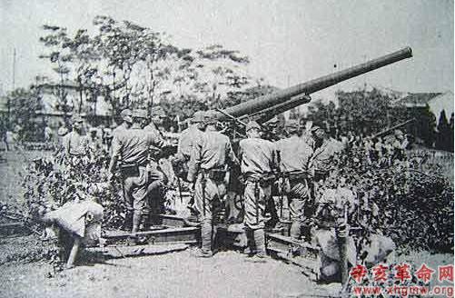 淞沪会战/图2:日军装甲车、坦克、火炮部队早已做好侵略准备