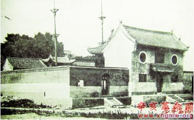 上世纪初的青岛天后宫