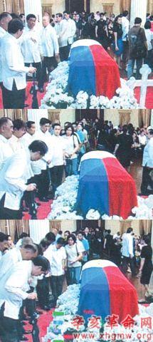 据菲律宾《商报》报道,菲律宾华裔内政部长林炳智近日因公事发生飞图片